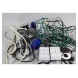 Extension Cords, Triple Plugs & Flood Lights