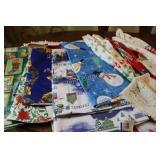 Christmas Aprons and Table Cloths
