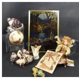 Stain Glass, Designer Fairy Doll, Bird Decor
