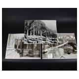 Large Black & White Print Photographs