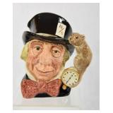 Mad Hatter Royal Doulton Character Jug, Large