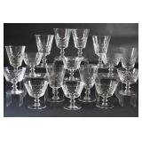 Cross & Olive Stemware Glass Sets