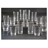 Cross & Olive High & Low Ball Glass Sets