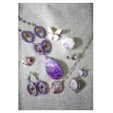 Designer Necklace, Earring & Brooch Sets
