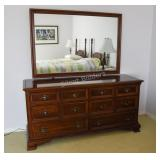 Gibbard Craftsmen Solid Cherry Dresser & Mirror