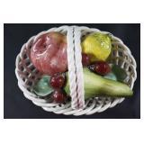 China & Ceramic Fruit Basket