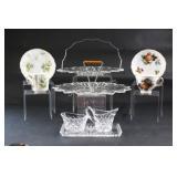 Hammersley & Royal Vale Tea Cups & Dessert Trays