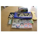 Rummy-O Tile Game & Playing Cards & Shuffler