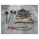Pipe Threaders and Braided Steel Slings-