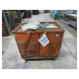 Rolling Bin and Contents-