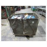 Rolling Bin and Electrical Contents-