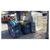 (approx qty - 90) Storage Totes-