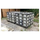 (approx qty - 96) Storage Totes-