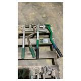 (qty - 2) Greenlee 710 Metal Stud Punch-