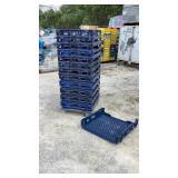 (qty - 13) Bread Trays w/ Caster Base-