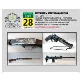 September Firearm, Ammo, Knife and Coin Auction