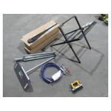 Work Support, Sprayer, Turbine Blades-