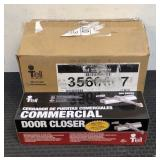 (4) Tell Commercial Floor Closers