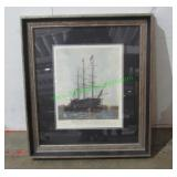 """""""The Last Journey of the Victory 1922"""" Framed Art-"""