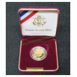 1999 US West Point Mint $5 Gold Coin-