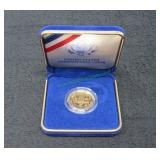 1987 US Constitution $5 Gold Coin-