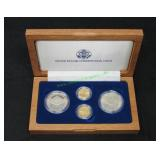 1987 US Constitution Silver Dollar and Gold $5-