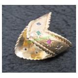 Mid 20th Century 14kt Yellow Gold Custom Ring-