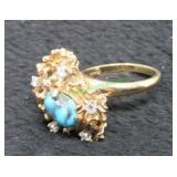 14kt Yellow Gold Ring-