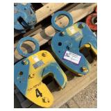 (2) Safety Clamps Plate Clamps VL