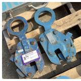 (2) Renfroe Plate Clamps FR