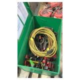 Assorted Hytork PArts and Hydraulic Hose
