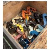 (15) Assorted Beam Clamps