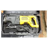 DeWalt Reciprocating Saw and Rotary Hammer