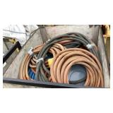 Air Hose and Forklift Platform