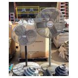 (2) Warehouse Fans