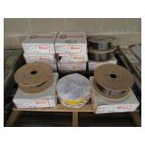 (13) Hobart Spools of Welding Wire