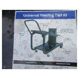 (3) Metal Man Universal Welding Carts