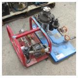 (2) Hydro Test Pumps