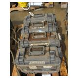 (4) Miller Wire Feeders Suitcase X-treme AVS