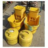 Mop Buckets & Safety Fuel Cans