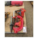 Assorted Ridgid Pipe Equipment