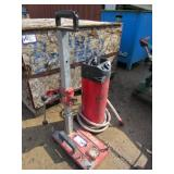 Hilti Drill Stand and Water Supply Unit
