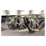 (3) Oztec Concrete Vibrator Motors