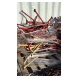 (10) Pipe Roller Stands