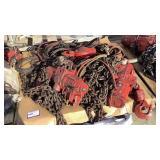 (2) JDN 6 Ton Pneumatic Chain Hoists