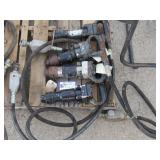 (4) Sullair Pneumatic Chipping Hammers