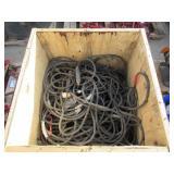 Crate of Assorted Welding Grounds