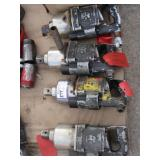 """(4) Ingersoll Rand 1 1/2"""" Pneumatic Impact Wrenche"""