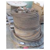 Spool of Braided Steel Cable