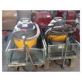 Shop-Vacs and Yard Carts